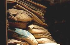 ration sacks for editorial