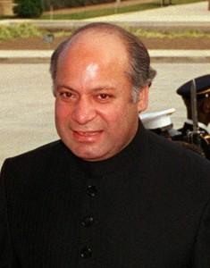 पाकिस्तान के प्रधानमंत्री - नवाज़ शरीफ