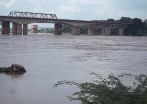 खतरे का निशान केन नदी