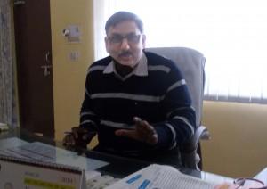 डी.एम. सत्येन्द्र कुमार सिंह